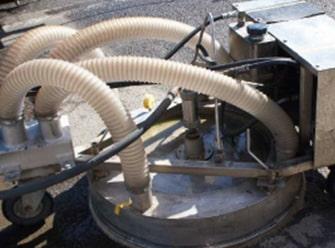 900油圧式スピン洗浄機